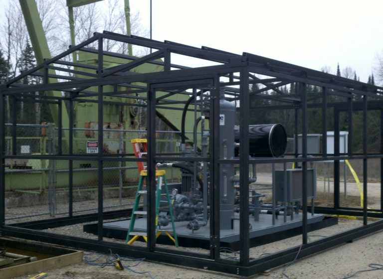 Tube steel frame